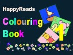 Cover of HappyReads Colouring Book 1